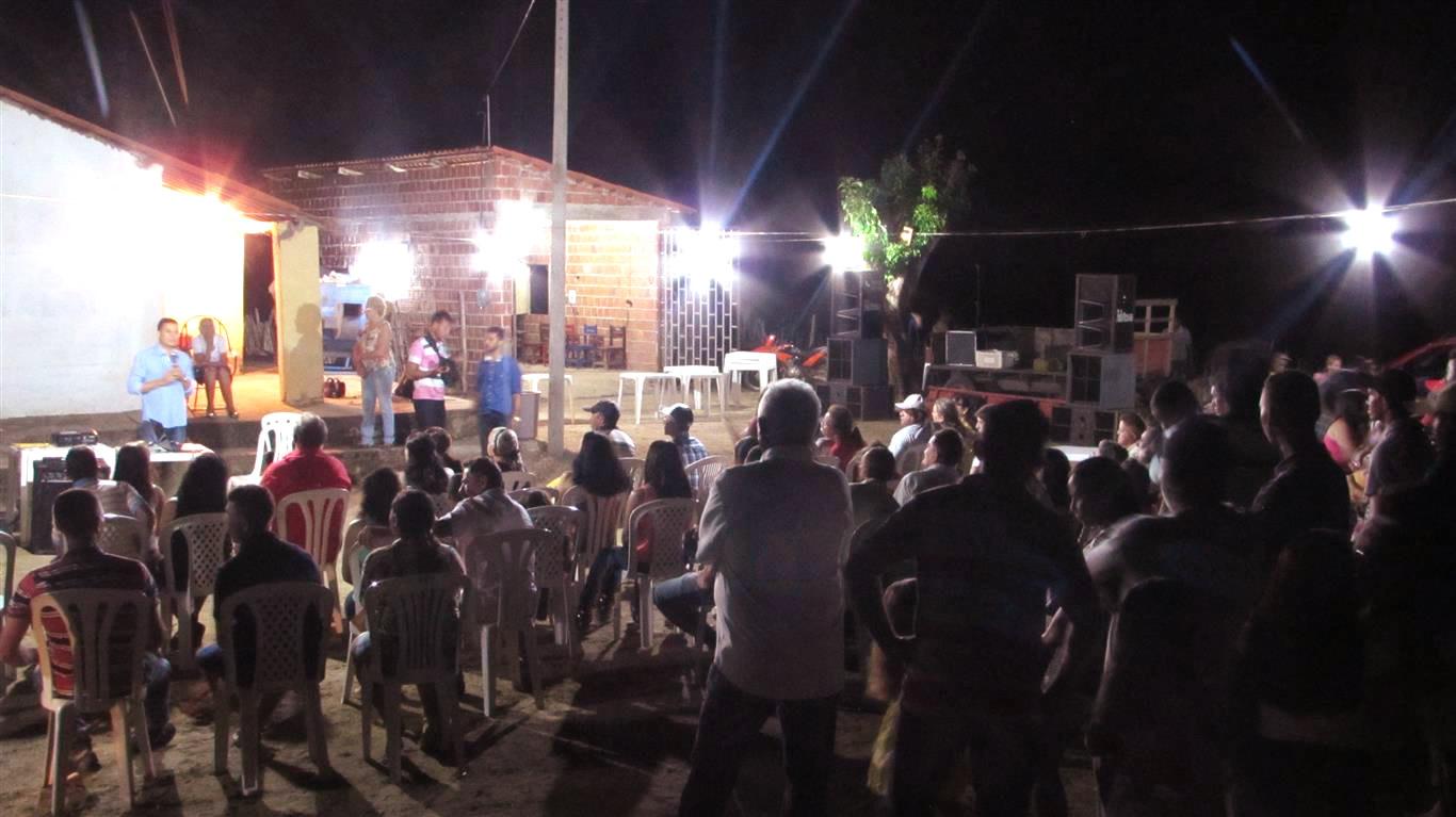 Entrega de caráter produtivo do programa P1+2 foi motivo de festa na comunidade de Tabuleiro-Jucás