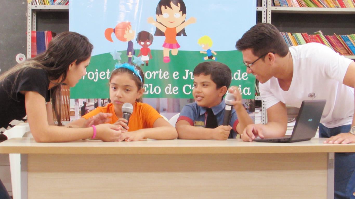 Telejornal das Crianças - Esporte e Juventude, CRAS Santa Rosa - Iguatu/CE